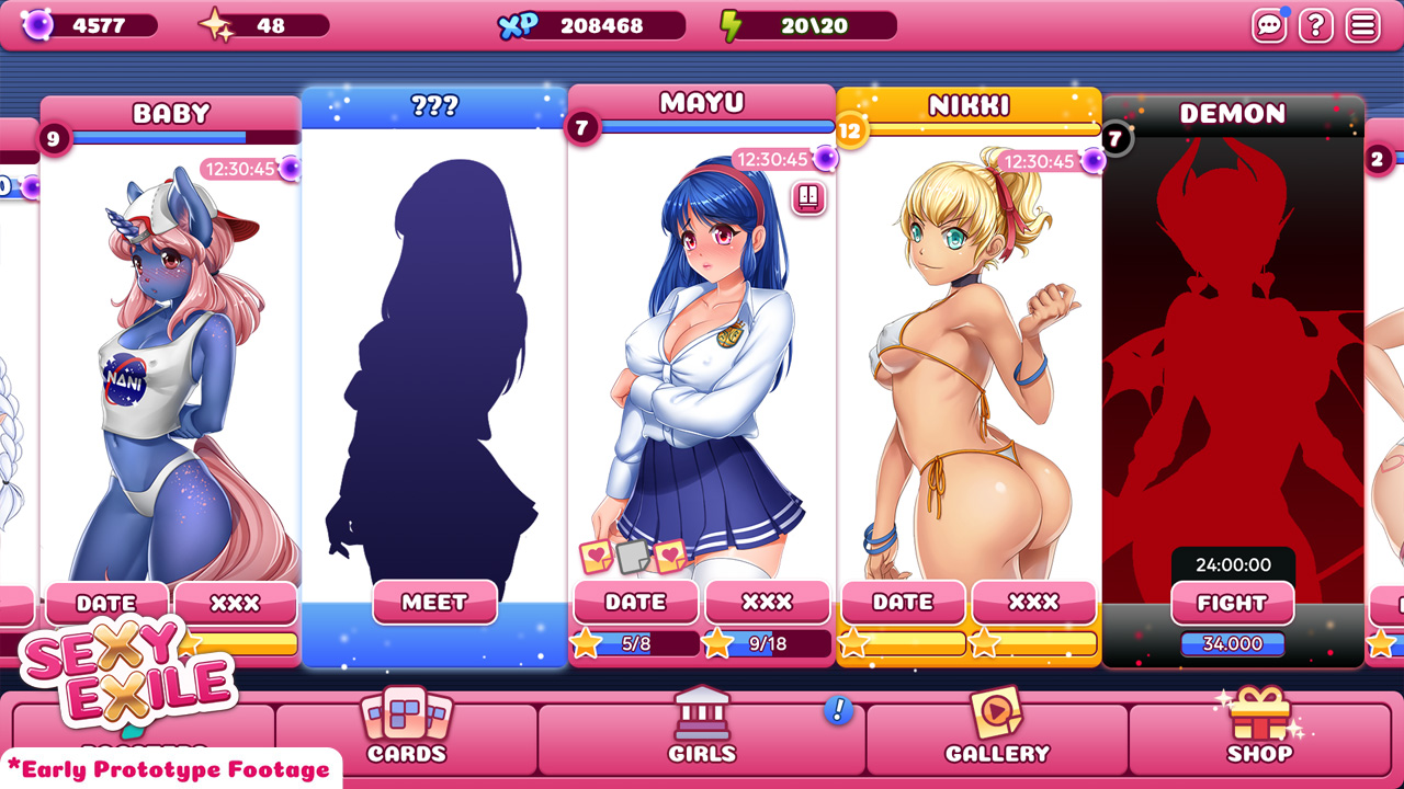 Hentai Arcade Games within nsfw - [nsfw] sexy exile - heaven on earth (dating sim + arcade